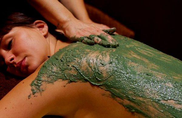 Gommage enveloppement boue corps Homme / Femme Bulle de Soi Toulouse
