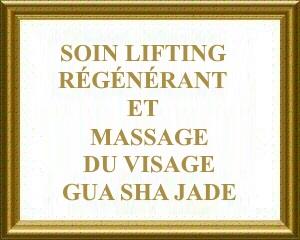 Soin lifting et régénérant et massage du visage aux pierres de jade - soin complet Gua Sha Jade chez Bulle de Soi Toulouse
